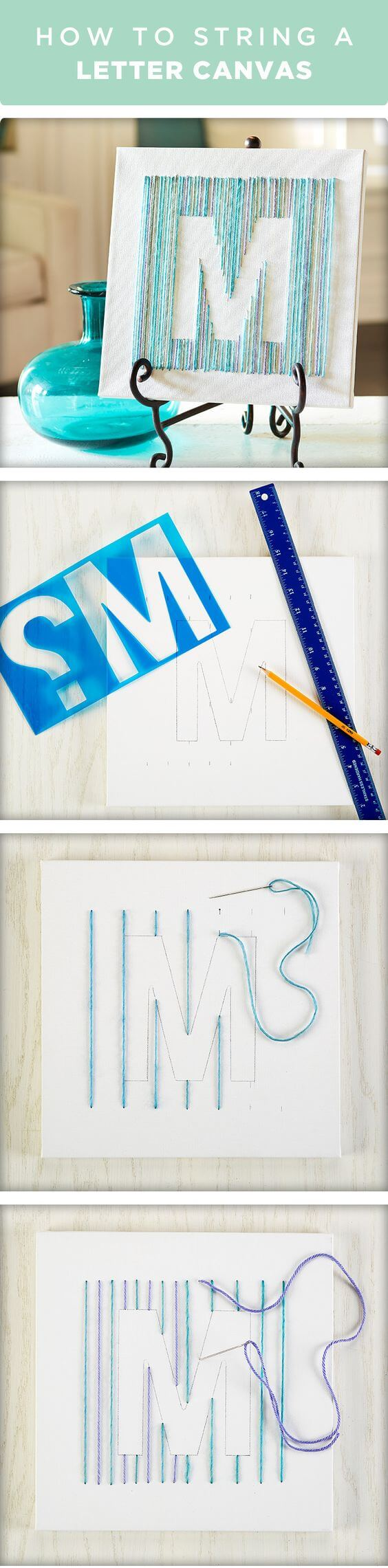 Create a Unique Embroidered Initial