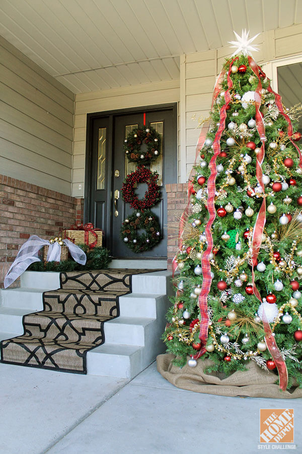 Front Porch Traditional Christmas Tree