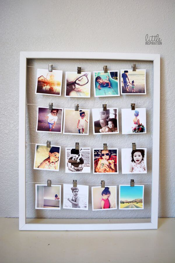 Exceptional Display Instagram Photos With An Oversized Frame