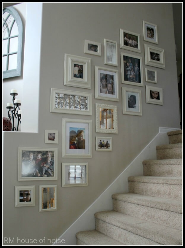 Matching Cream Frames Create an Elegant Effect