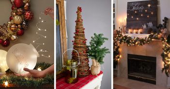 Christmas Mantel Decoration Ideas