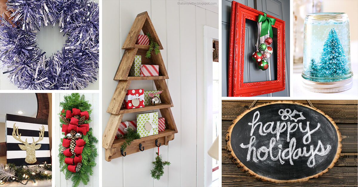 33 Best DIY Christmas Decorations (Ideas and Designs) for 2020
