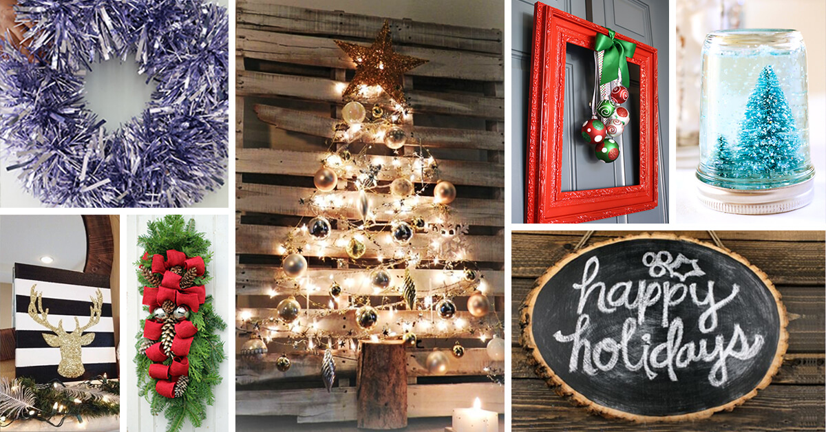 33 Best Diy Christmas Decorations Ideas And Designs For 2017