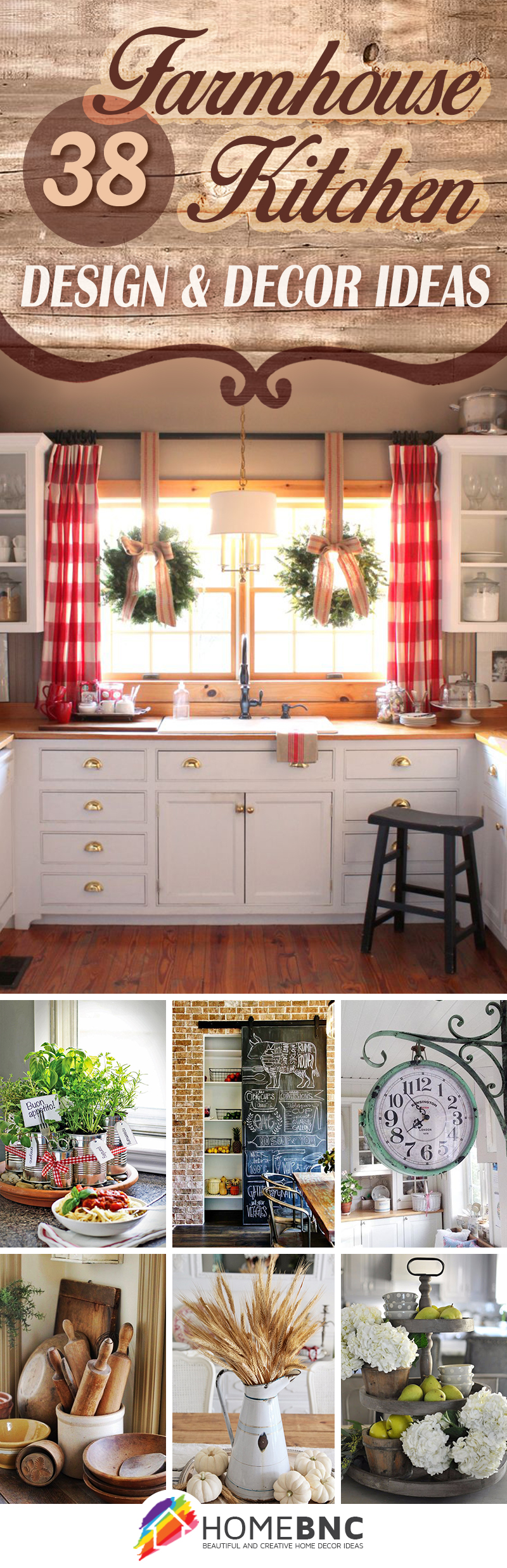 Delightful Farmhouse Kitchen Decor Ideas