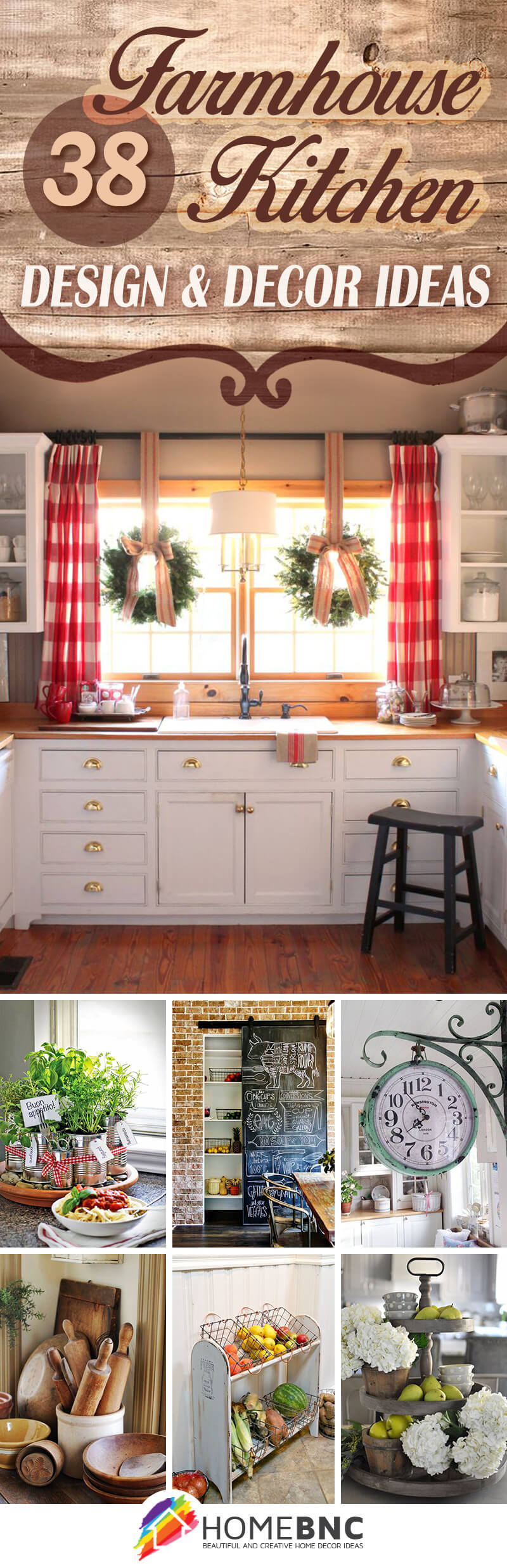 decor and design 38 best farmhouse kitchen decor and design ideas for 2018 Farmhouse Kitchen Decor Ideas