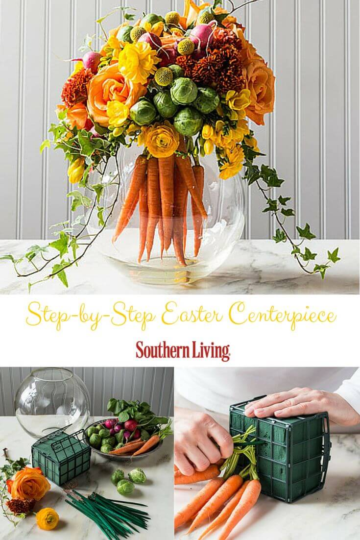 27 best diy easter centerpieces ideas and designs for 2017 for How to make easter decorations for the home