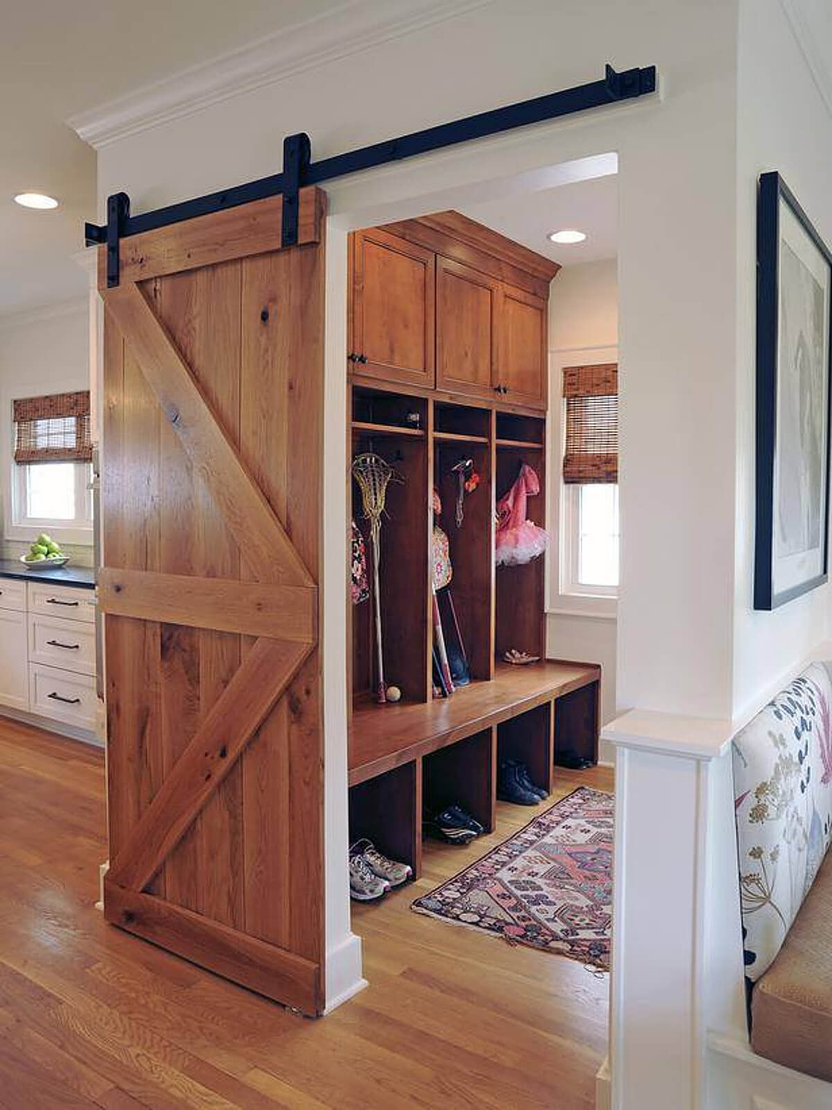 Design Mudroom Ideas 23 best mudroom ideas designs and decorations for 2017 2 wooden barn door rustic feel