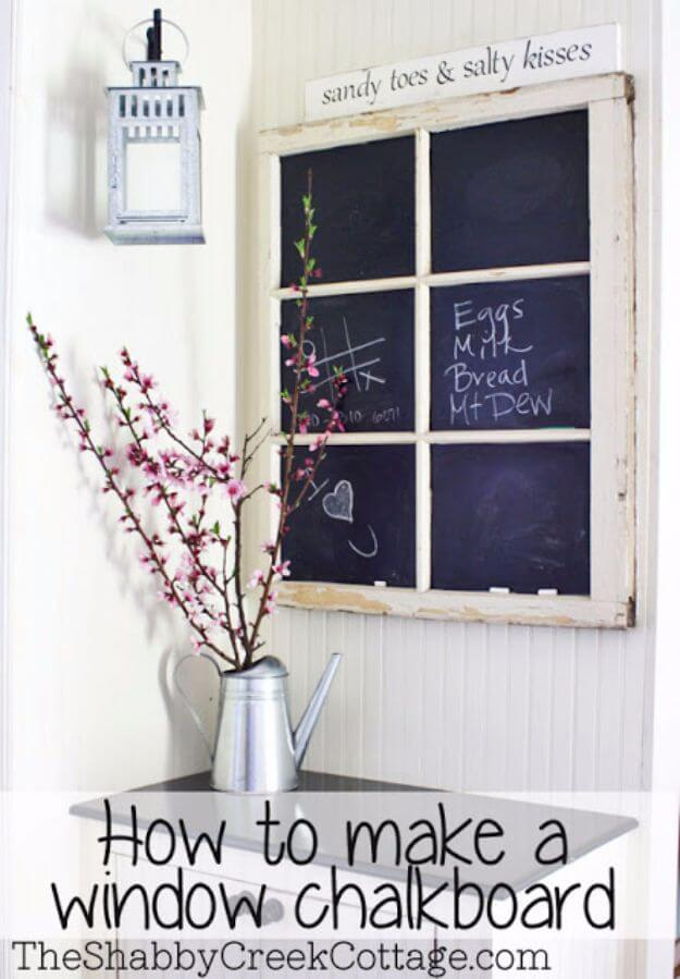 A Chalkboard For Little Messages