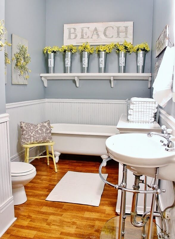 Best Small Bathroom Design Ideas And Decorations For - Small bathroom remodel with clawfoot tub