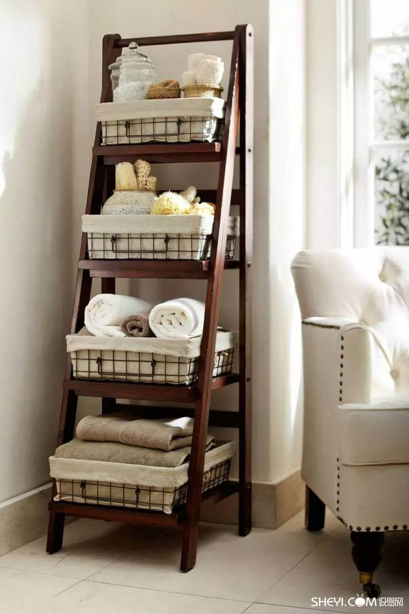 Creative bathroom storage ideas - The Hierarchy Of Bathroom Needs