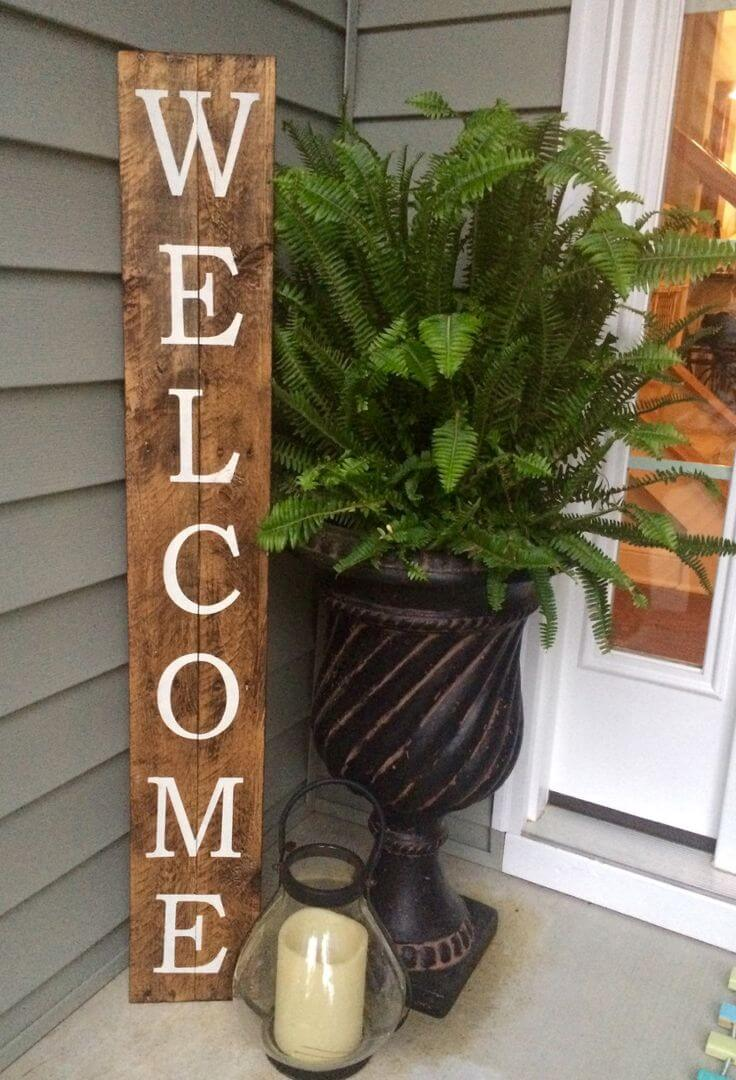 Welcome spring 17 diy porch decor ideas style motivation for Front porch designs ideas