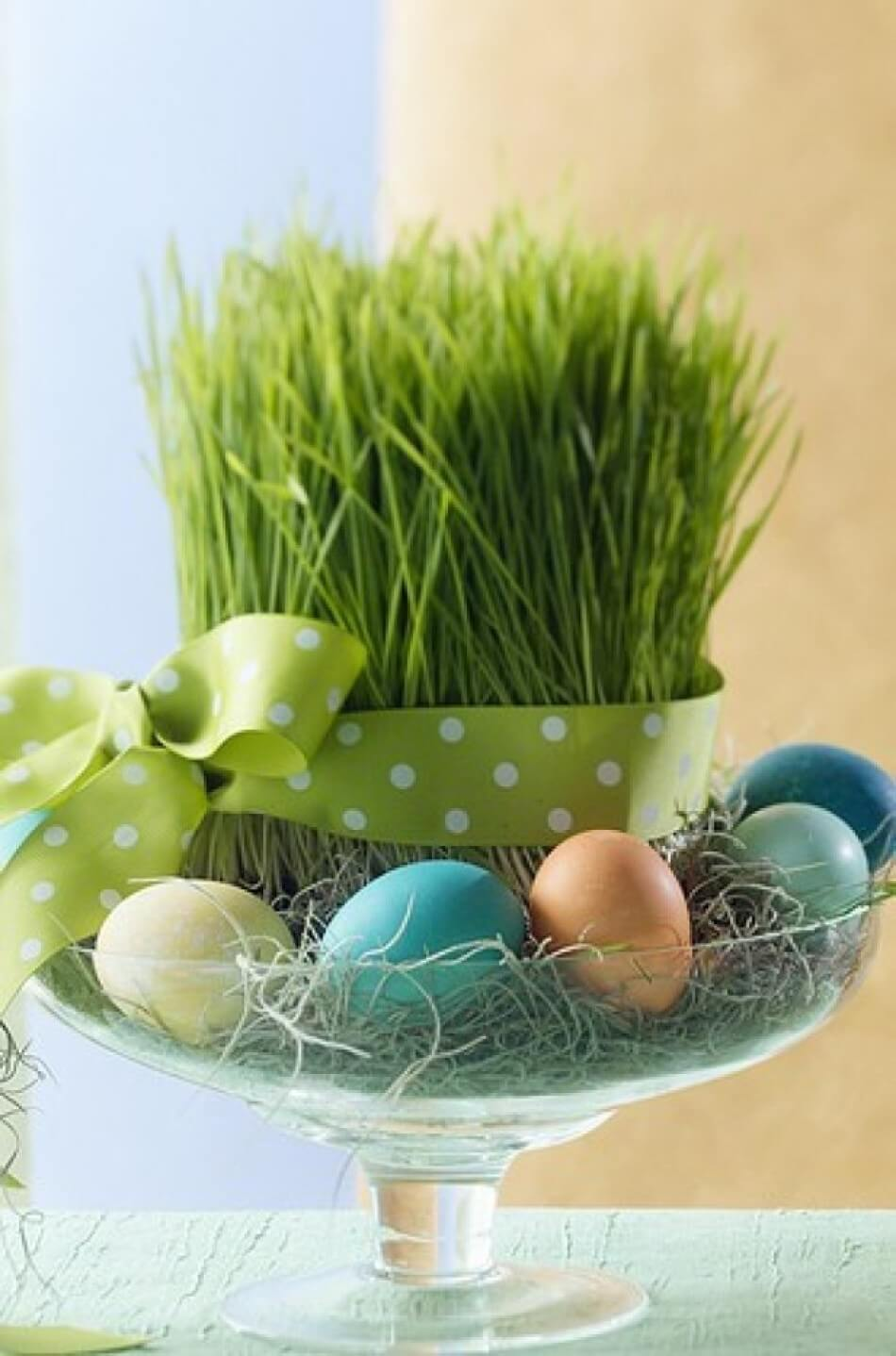 19 beautiful diy easter centerpiece ideas style motivation for Diy easter decorations home