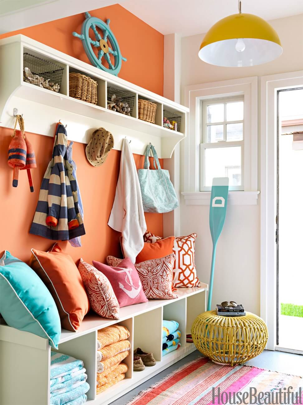 Bright Foyer Colors : Best mudroom ideas designs and decorations for