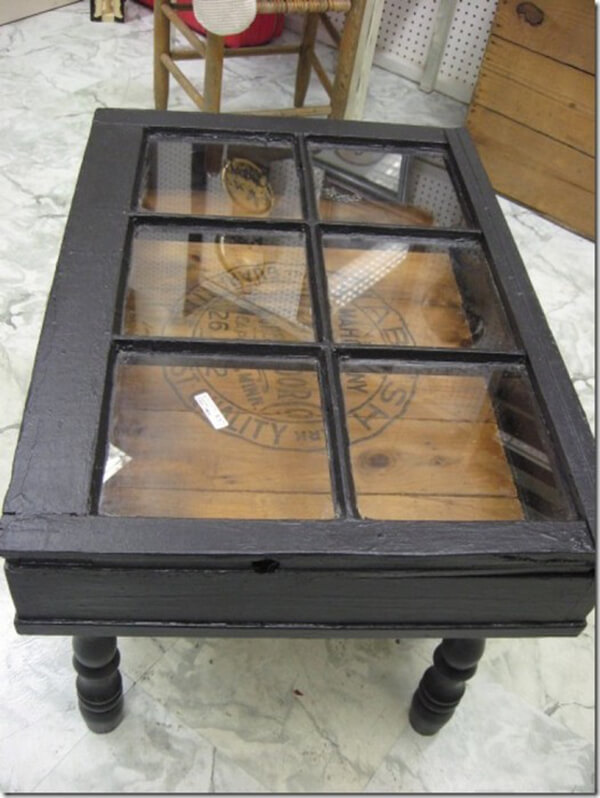 A Frame Is Repurposed As A Vitrine