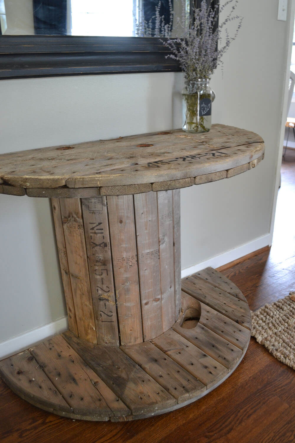 Charming Wooden Spool Table