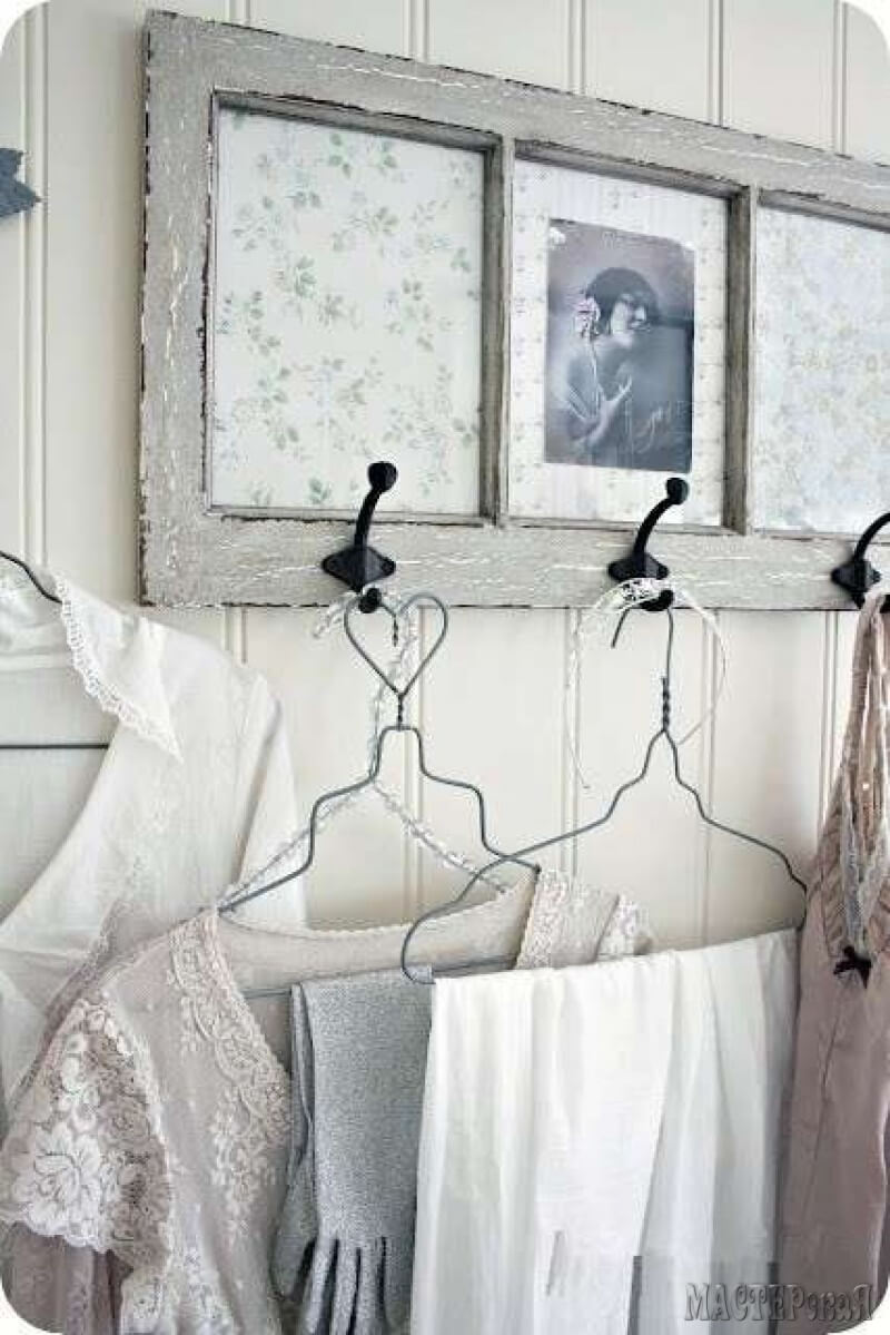 Paint, Paper Make A Pretty Clothes Rack