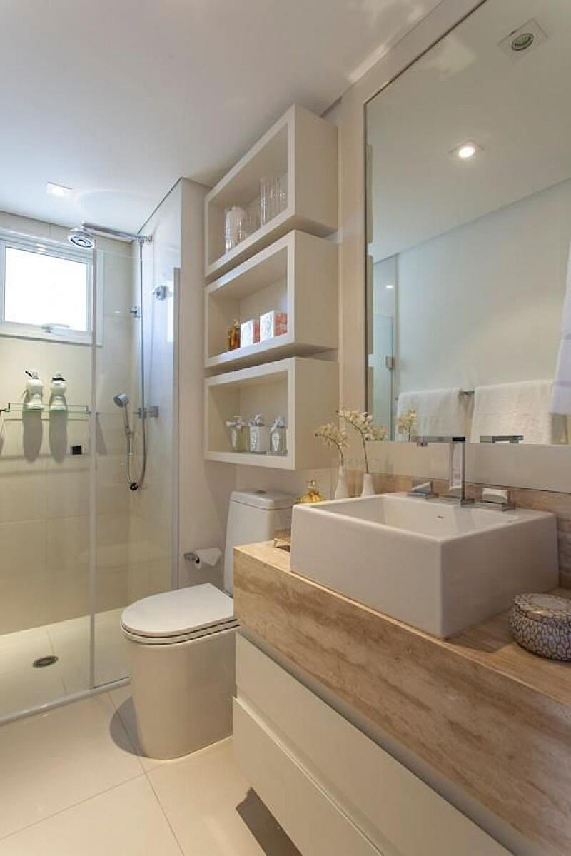 12. Now You See Me, Now You Don't - 44 Best Small Bathroom Storage Ideas And Tips For 2017