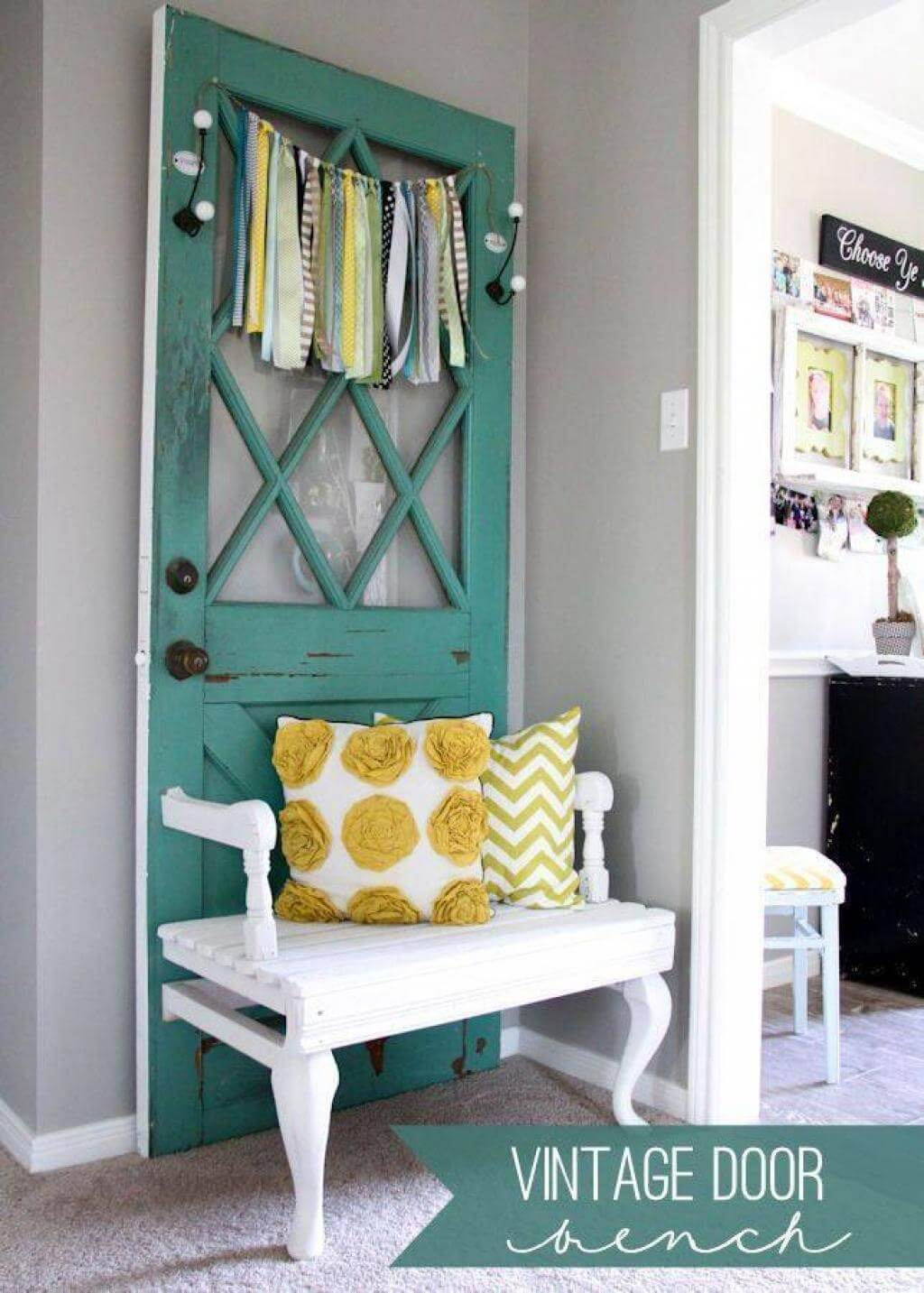 33 Best Repurposed Old Door Ideas And Designs For 2017