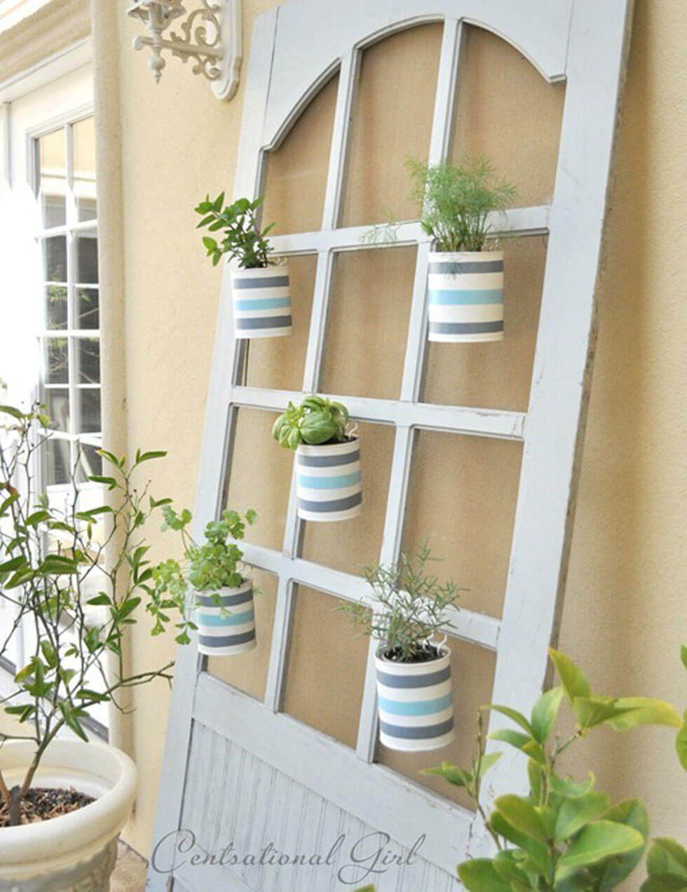 New takes on old doors 21 ideas how to repurpose old for Balcony door ideas