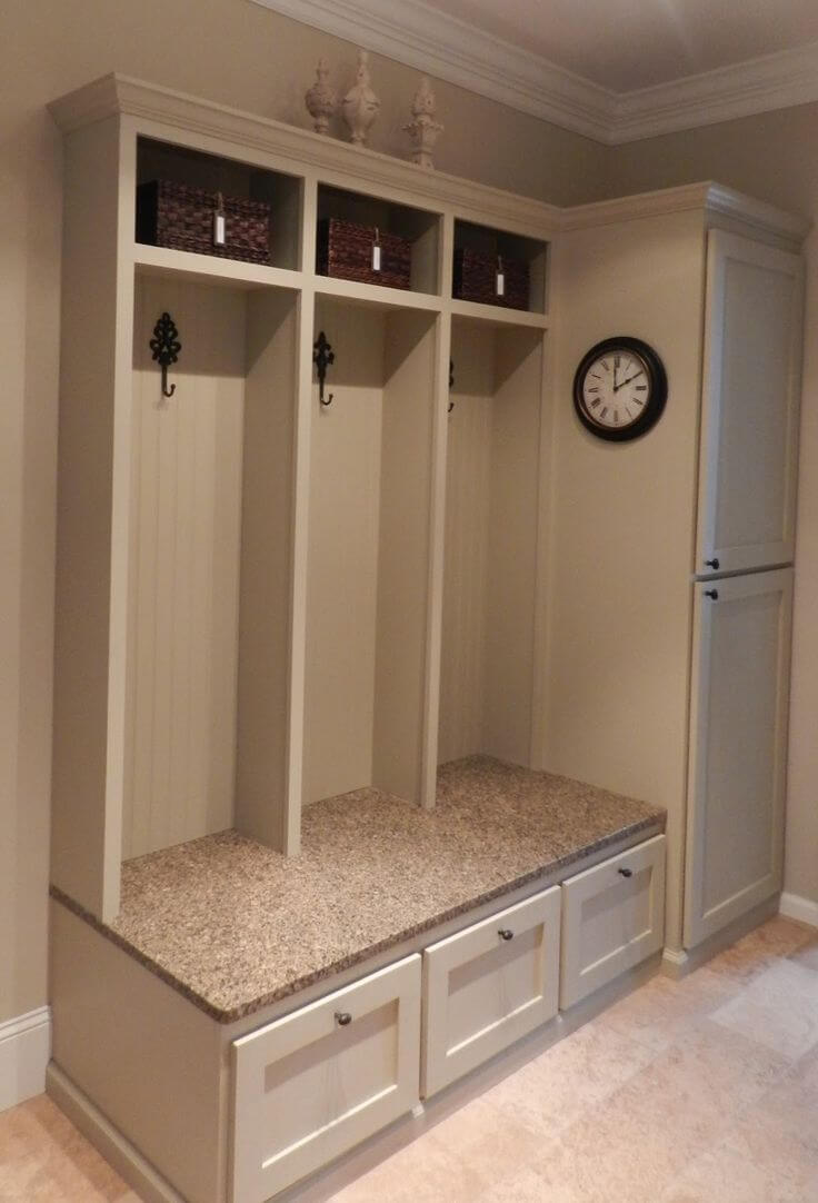 23 best mudroom ideas designs and decorations for 2018 for Mudroom sink ideas