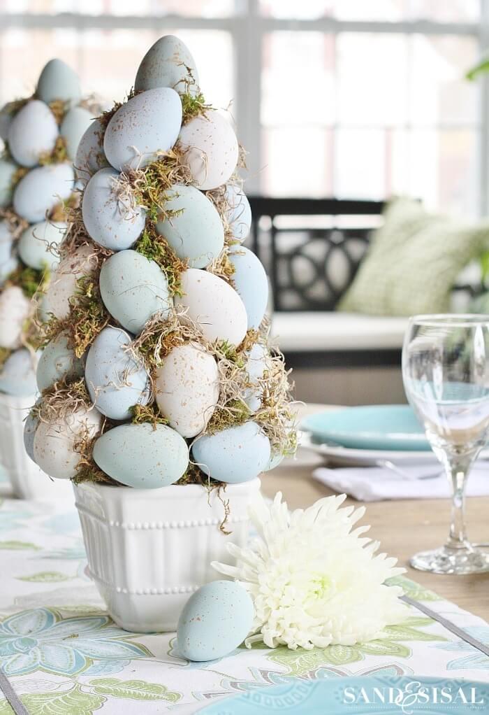 Elegant Easter Egg Tree Decorations