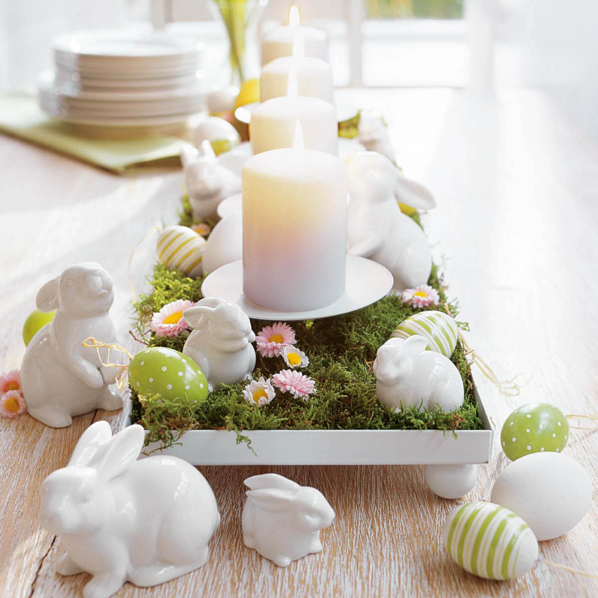 """At The Eater Bunny Hop"" Centerpiece"