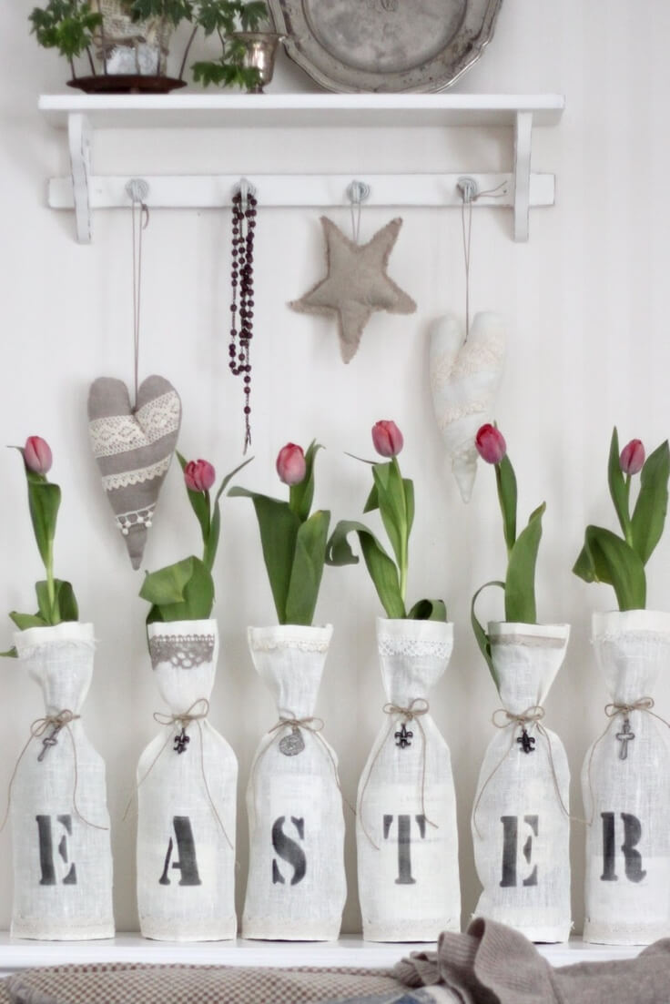 DIY Easter Tulip Decor Project