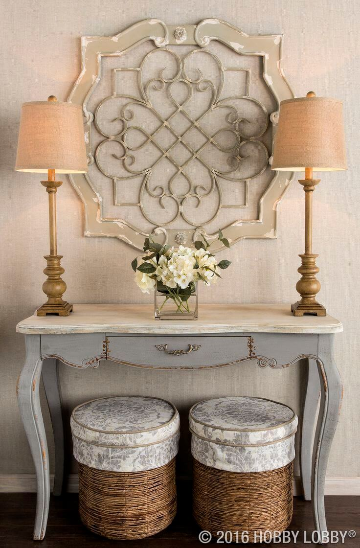 37 best entry table ideas decorations and designs for 2017 for Wall decorating ideas pinterest