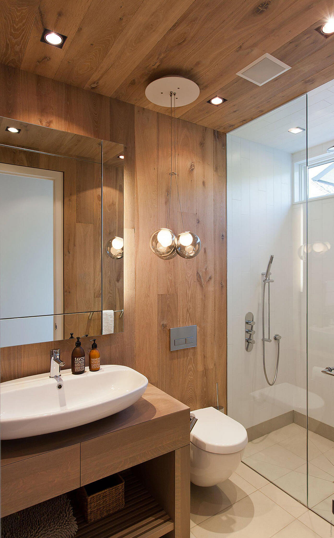 Best Small Bathroom Designs. 21 Fragrant And Warming Cedar Sauna