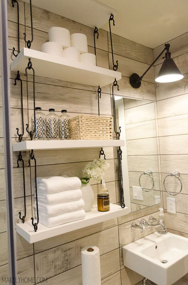 High Quality Unique Storage Ideas For A Small Bathroom