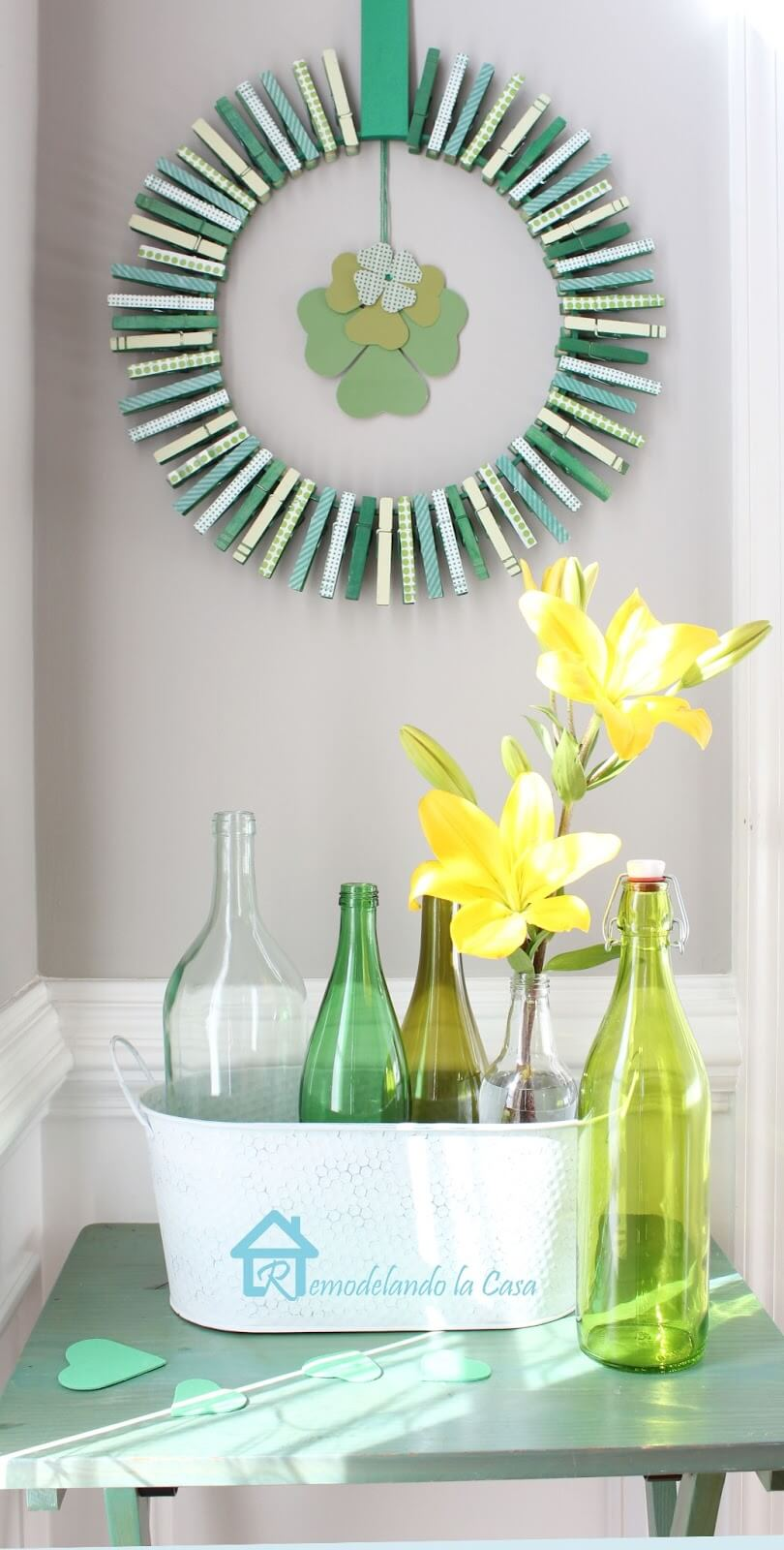 16 awesome diy st  patrick u0026 39 s day decor projects to make