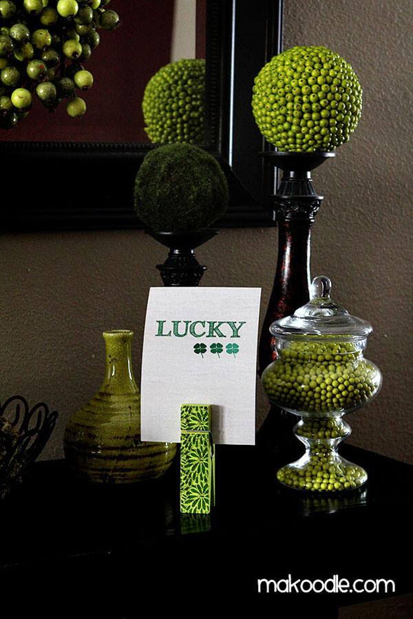 Lucky St. Patrick's Day Decor