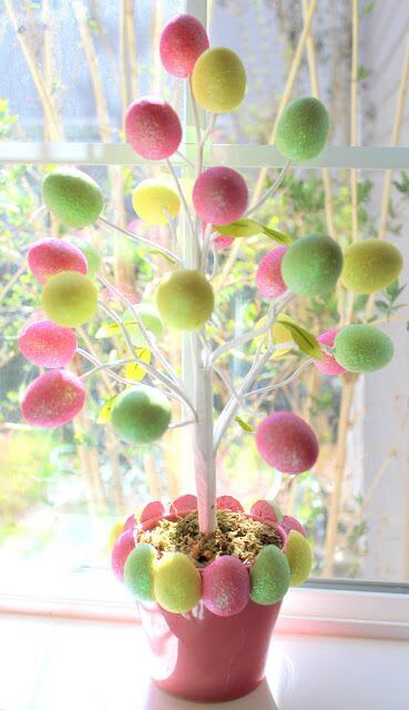 Easter Decorations To Make For The Home