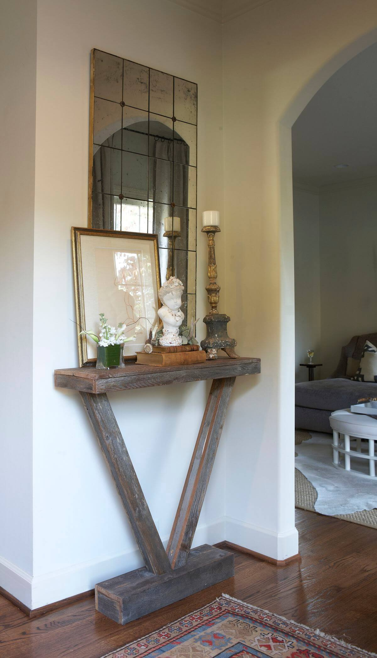 Rustic Narrow Foyer Table : Best entry table ideas decorations and designs for