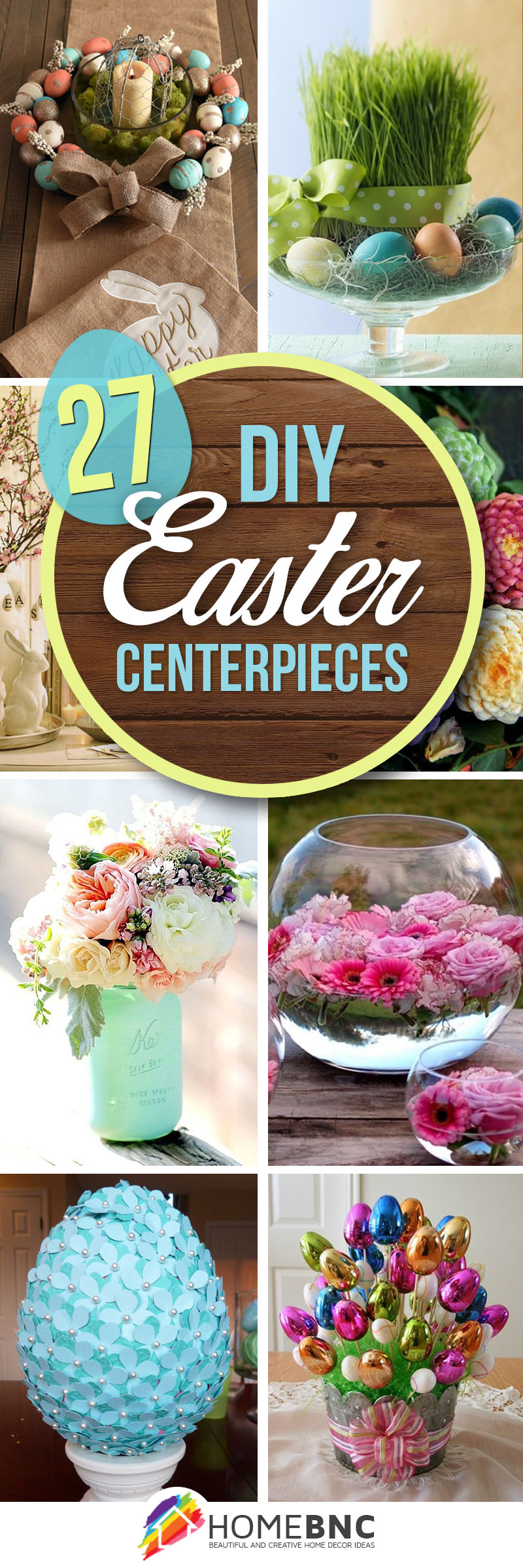 27 best diy easter centerpieces ideas and designs for 2017 for Diy easter decorations home