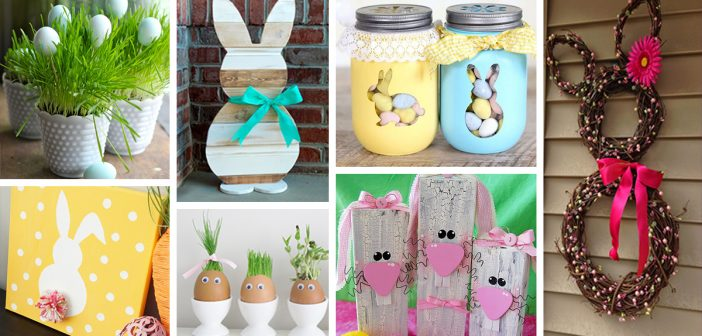 32 Best Diy Easter Decorations And Crafts For 2019