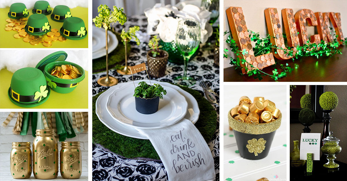 25 best diy st patrick 39 s day decorations and ideas for 2017
