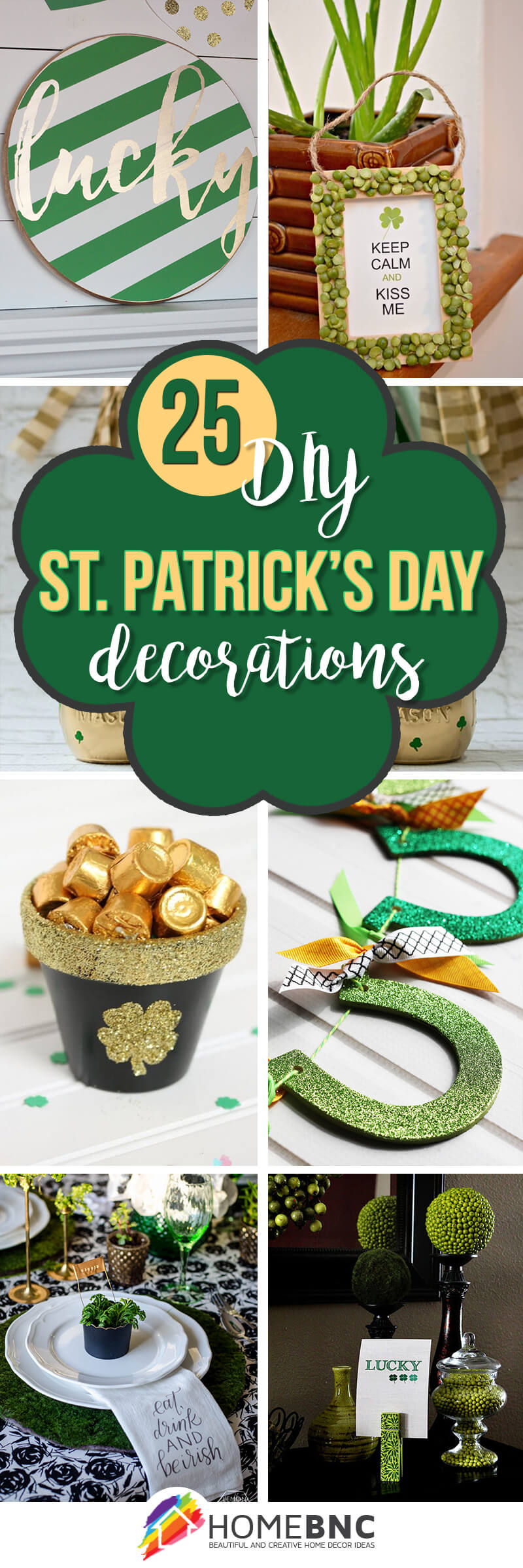 25 Best DIY St. Patrick\'s Day Decorations and Ideas for 2019