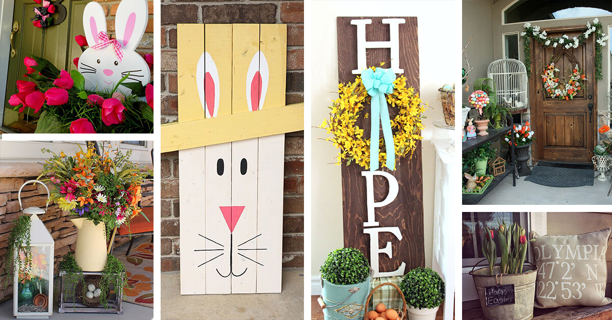 23 best easter porch decor ideas and designs for 2017 - Porch Decor