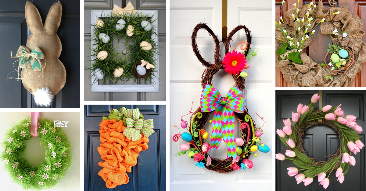 26 Best Easter Wreath Ideas And Designs For 2018