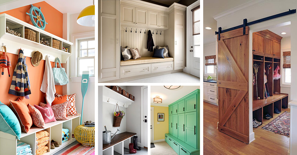 23 Mudroom Ideas To Brighten Your Entryway