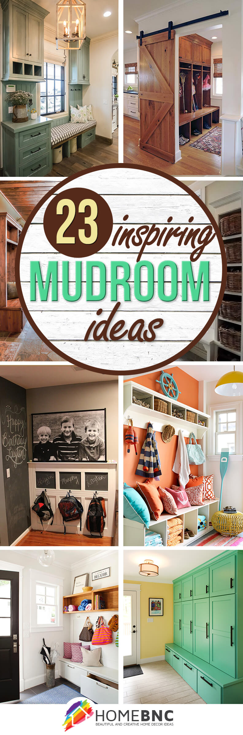 23 Best Mudroom Ideas (Designs and Decorations) for 2019