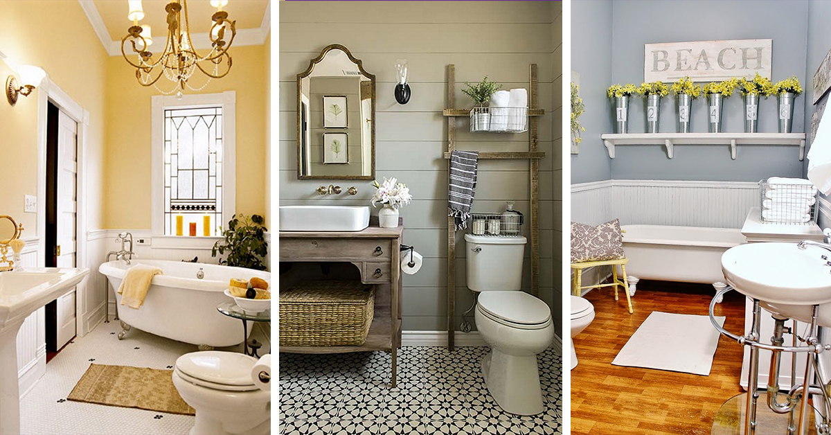 & 32 Best Small Bathroom Design Ideas and Decorations for 2018