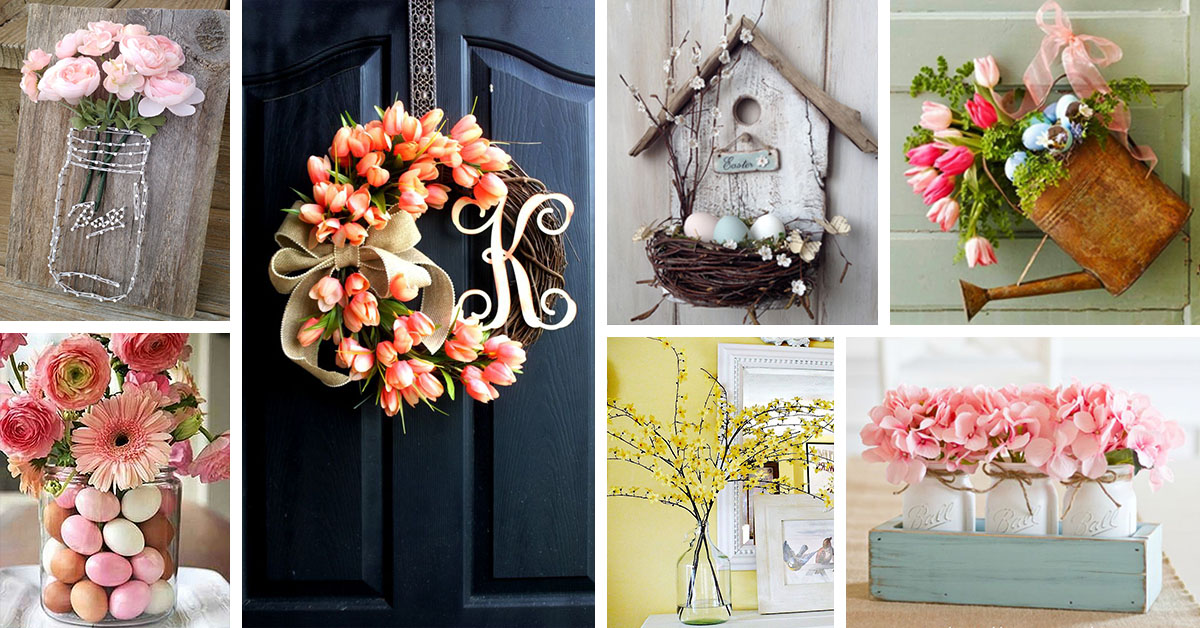 28 Best Spring Decoration Ideas and Designs for 2021