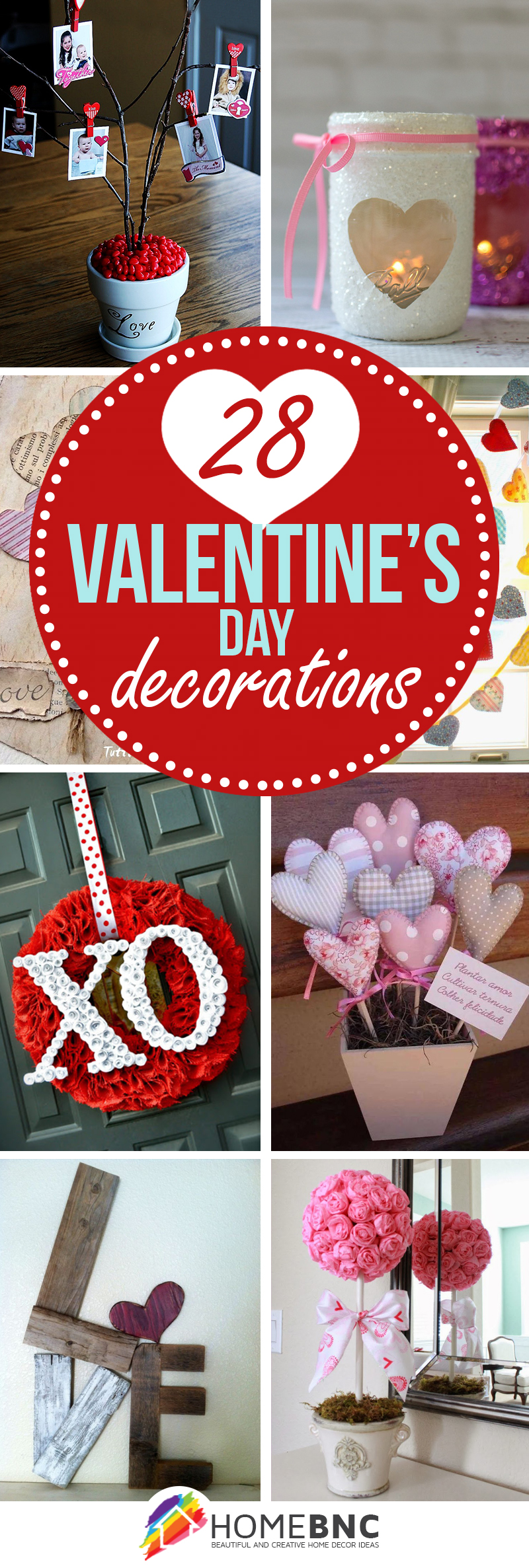 28 Romantic Valentineu0027s Day Decorations