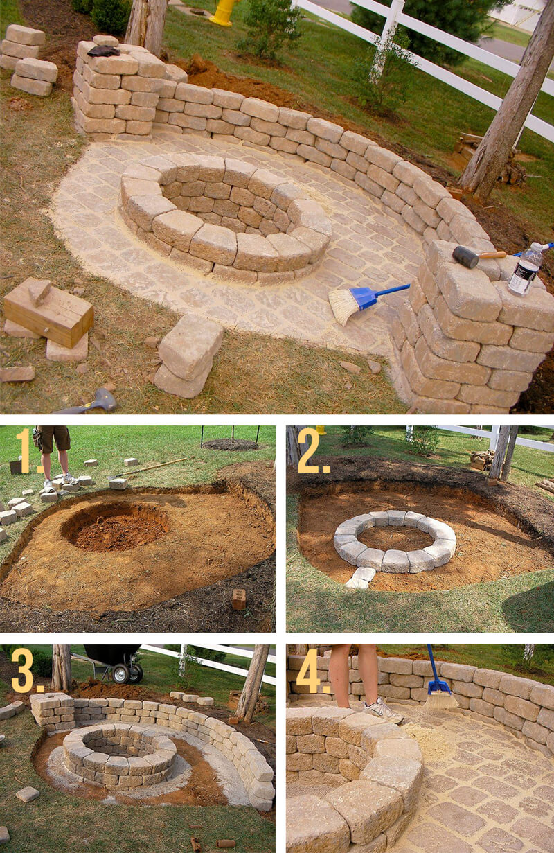 27 Best Diy Firepit Ideas And Designs For 2019