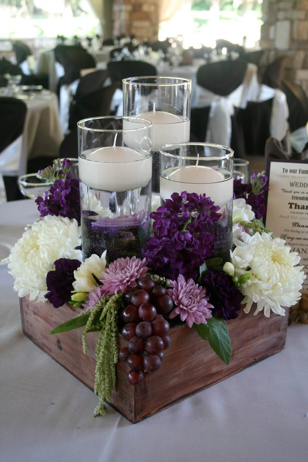 An Elegant Wedding Inspired Table Centerpiece