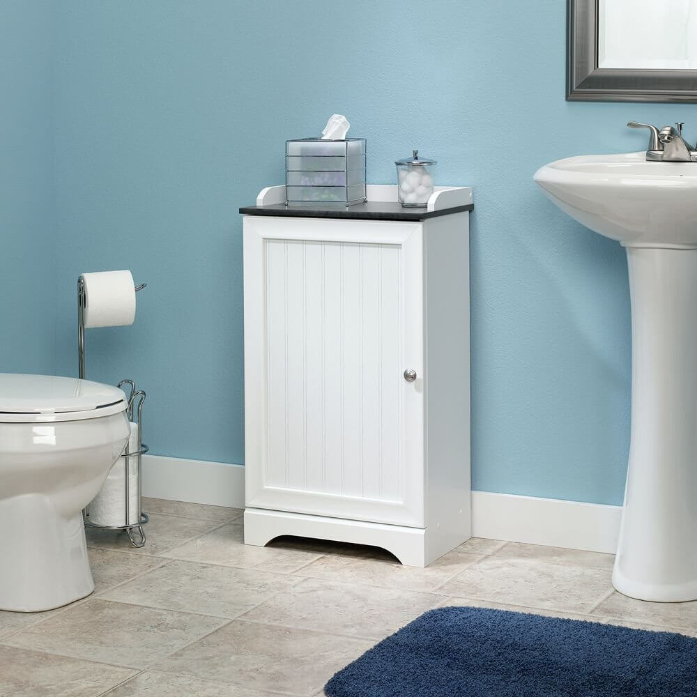 sauder caraway floor cabinet - Small Bathroom Cabinets Storage