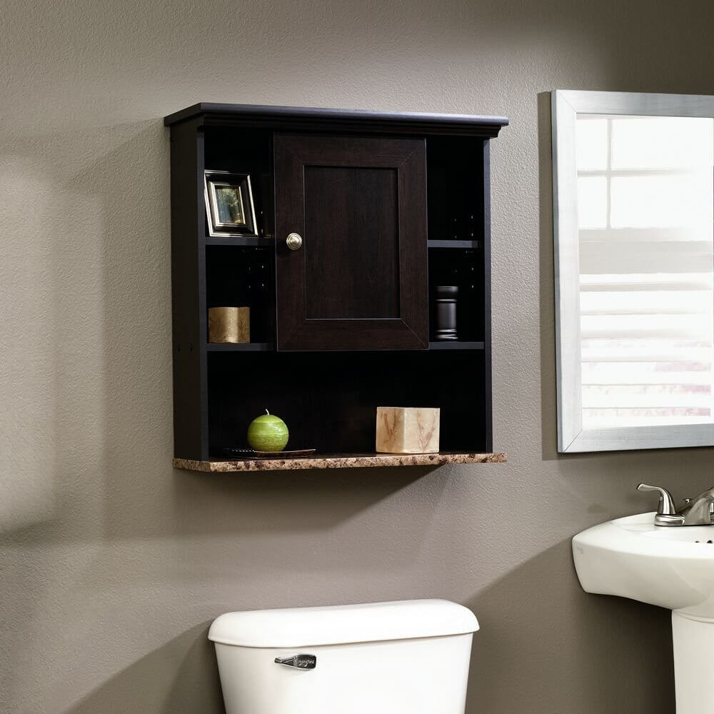 Bathroom storage wall cabinet - Sauder Wall Cabinet