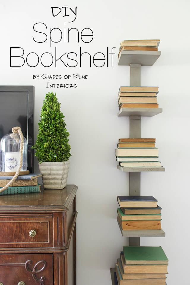 26 Best Diy Bookshelf Ideas And Designs For 2020